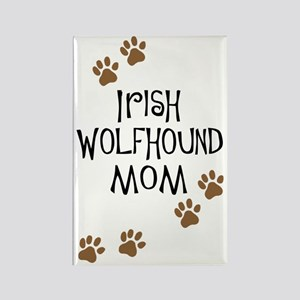 Irish Wolfhound Mom Rectangle Magnet