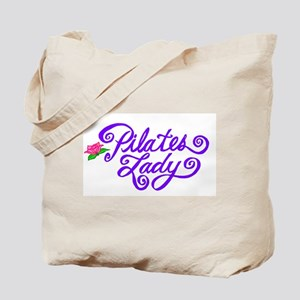 Pilates Lady Tote Bag