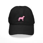 Pink Irish Wolfhound Black Cap