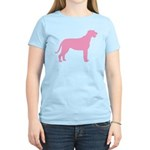 Pink Irish Wolfhound Women's Light T-Shirt
