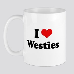 I Love Westies Mug