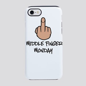 Middle Finger Monday iPhone 8/7 Tough Case