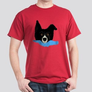 Border Collie Alarm Clock Dark T-Shirt