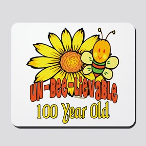 Un-Bee-Lievable 100th Mousepad
