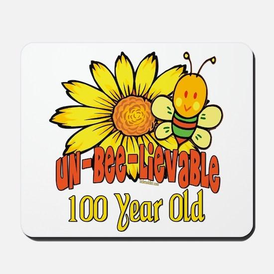 Un-Bee-Lievable 100th Mousepad