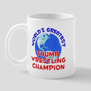 World's Greatest Thumb.. (E) Mug