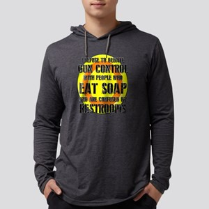 GUN CONTROL DEBATE SCHOOL SHOOTINGS Long Sleeve T-