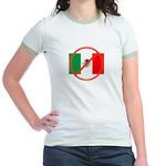 Jr. Ringer T-Shirt -- Remember the Alamo.