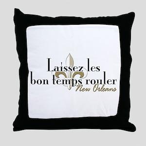 Laissez les NOLA Throw Pillow