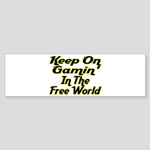 Free World Gaming Bumper Sticker