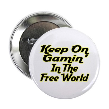 """Free World Gaming 2.25"""" Button"""