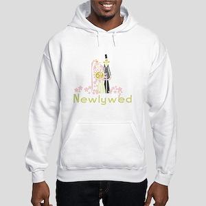 Bride and Groom Newlywed Hooded Sweatshirt