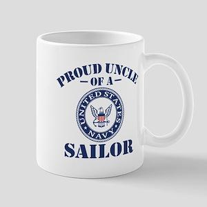 Proud Uncle Of A US Navy Sailor Mug