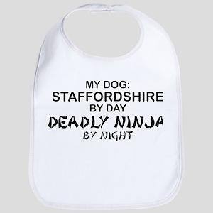 Staffordshire Deadly Ninja Bib