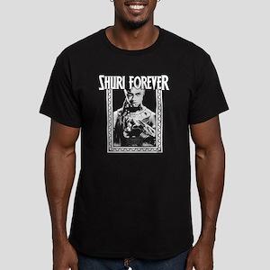 Black Panther Shuri Men's Fitted T-Shirt (dark)