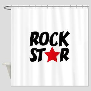 Rockstar Shower Curtain