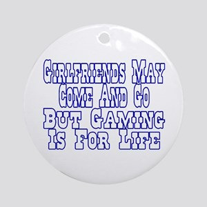 Girlfriends Come And Go Ornament (Round)