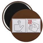 Press Button Get Bacon Magnet