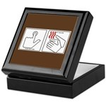Press Button Get Bacon Keepsake Box