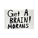 Get A Brain Morans Rectangle Magnet (10 pack)