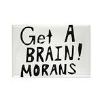 Get A Brain Morans Rectangle Magnet (100 pack)
