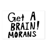 Get A Brain Morans Postcards (Package of 8)