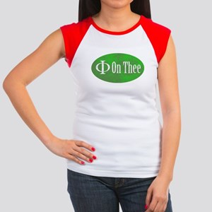 Phi on Thee Women's Cap Sleeve T-Shirt