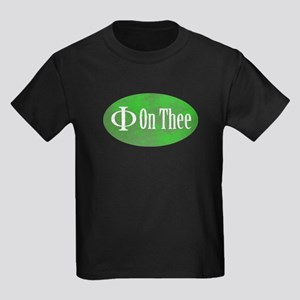 Phi on Thee Kids Dark T-Shirt