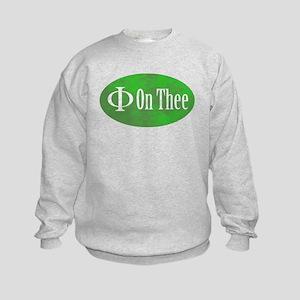 Phi on Thee Kids Sweatshirt