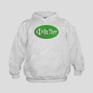 Phi on Thee Kids Hoodie