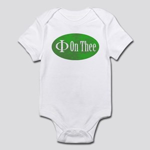 Phi on Thee Infant Bodysuit