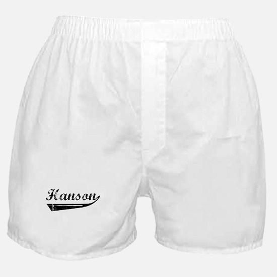 Hanson (vintage) Boxer Shorts