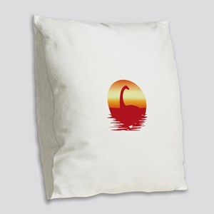 Nessie Burlap Throw Pillow