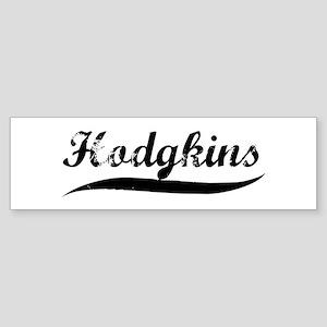 Hodgkins (vintage) Bumper Sticker