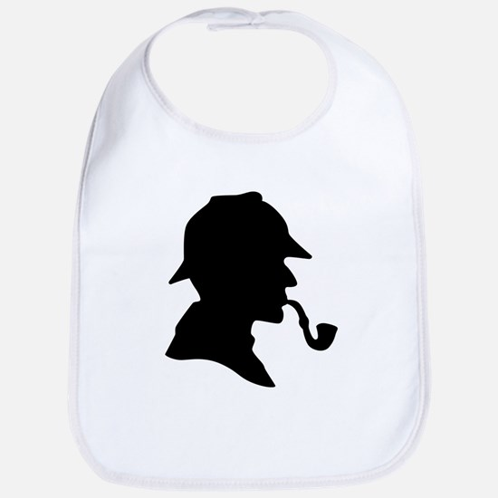 Sherlock Holmes Baby Bib