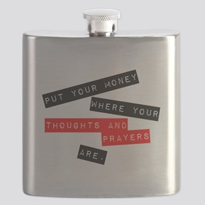 Thoughts and Prayers Flask