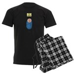Baby Arrival Men's Dark Pajamas