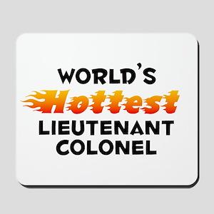 World's Hottest Lieut.. (B) Mousepad