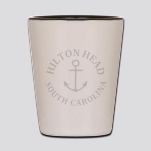 Summer hilton head- south carolina Shot Glass