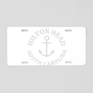 Summer hilton head- south c Aluminum License Plate