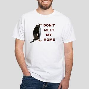 Global Warming Penguin Men's T-Shirt