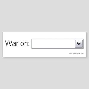 War on __________
