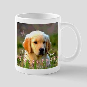 Austin The Retriever Puppy Mugs