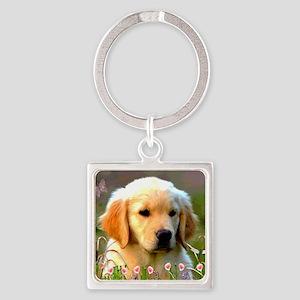 Austin The Retriever Puppy Keychains