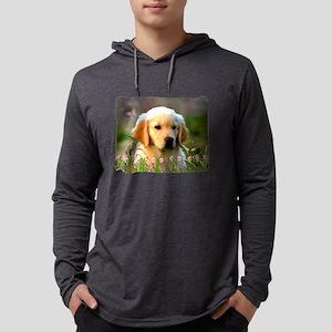 Austin, Retriever Puppy Long Sleeve T-Shirt