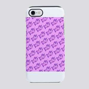 Pink Purple Fillmore P. Fish iPhone 8/7 Tough Case