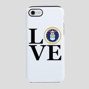 LOVE Air Force iPhone 8/7 Tough Case