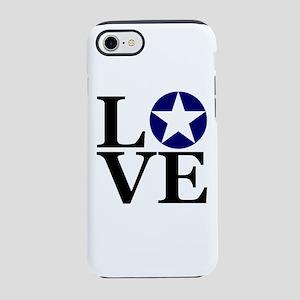 LOVE Air Force vintage iPhone 8/7 Tough Case