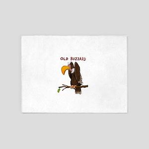 Old Buzzard 5'x7'Area Rug