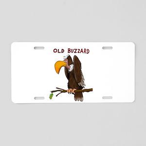 Old Buzzard Aluminum License Plate